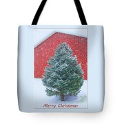 Evergreen In Winter 2 Tote Bag
