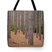 Evergreen Infinity Tote Bag