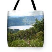 Evergreen Overlook Tote Bag
