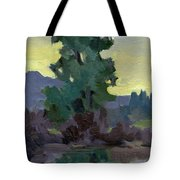 Evergreen Reflections Tote Bag