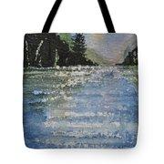 Evergreen Shore Tote Bag