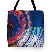 Evergreen State Fair Ferris Wheel Tote Bag
