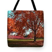 Every Year I Miss Autumn After It Is Over Tote Bag