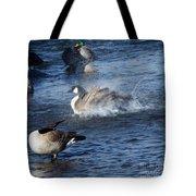 Everyone Duck Tote Bag