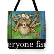 Everyone Farts Poster Tote Bag
