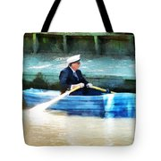 Everyone Is The Captain Of Their Own Boat Tote Bag