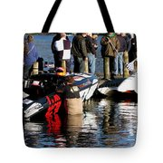 Everything Else Is Just Waiting Tote Bag