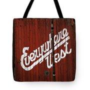 Everywhere West Tote Bag