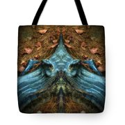 Evil Autumn Tree Roots Tote Bag
