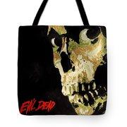 Evil Dead Skull Tote Bag