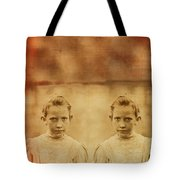 Evil Twins Tote Bag