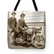Excalibur Motorcycle Circa 1920 Tote Bag
