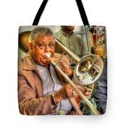 Excelsior Band Horn Player Tote Bag