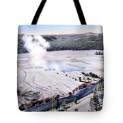 Excelsior Geyser, Yellowstone Np, 20th Tote Bag
