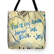 Excerpts From The Wall Memphis Tote Bag