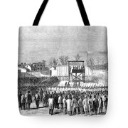 Execution Of Henry Wirzhenry Wirz Tote Bag