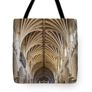 Exeter Cathedral And Organ Tote Bag