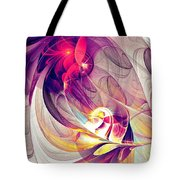 Exhilarated Tote Bag