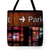 Exit Park Tote Bag