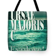 Exoplanet 03 Travel Poster Ursae Majoris Tote Bag by Chungkong Art