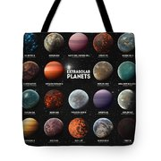 Exoplanets Tote Bag