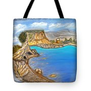 Exotic Beach Near Limassol Tote Bag