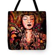 Exotic Beauty Tote Bag