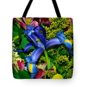 Exotic Blue Tote Bag