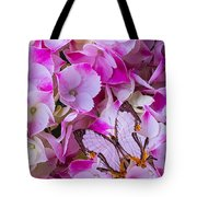 Exotic Butterfly On Hydrangea Tote Bag
