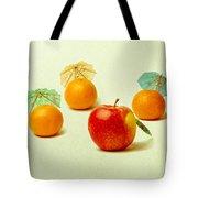 Exotic Fruit - Square Tote Bag by Alexander Senin