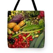 Exotic Fruits Tote Bag