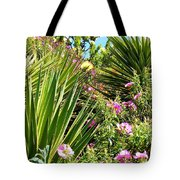 Exotic Hillside Garden Tote Bag