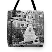 Exotic New Orleans Monochrome Tote Bag