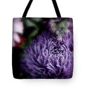 Exotic Purple Flower Tote Bag