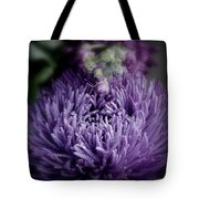 Exotic Purple Flower Two Tote Bag