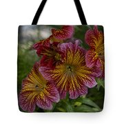 Exotic Spring Flowers Tote Bag