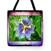 Exotic Strange Flower Tote Bag