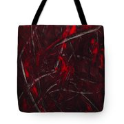 Expectations Red  Tote Bag