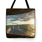 Expedition Boat In Repulse Bay Tote Bag