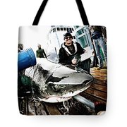 Expedition Great White Crew Conducts Tote Bag