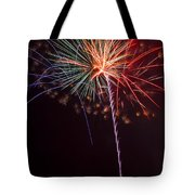 Exploding Colors Tote Bag by Garry Gay