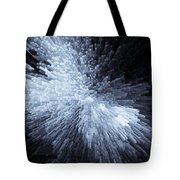 Exploding Ice Tote Bag