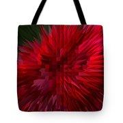 Exploding Rose Tote Bag