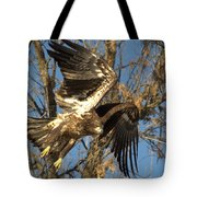 Exploding To Flight Tote Bag