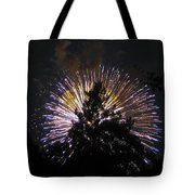 Exploding Tree Tote Bag