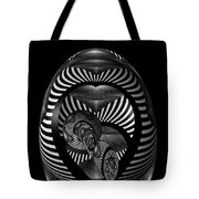 Exploration Into The Unknown Bw Tote Bag