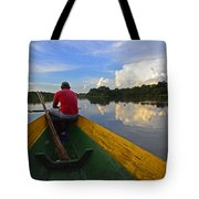 Exploring Amazonia Tote Bag
