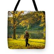 Exploring Autumn Light Tote Bag by Steve Harrington