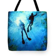 Exploring New Worlds Tote Bag by Hanne Lore Koehler