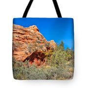 Exploring The Upper Plateau Of Zion Tote Bag